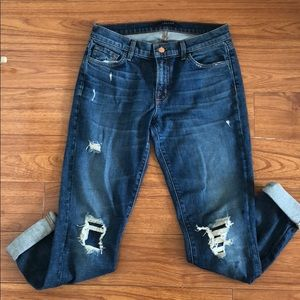 J Brand relaxed fit jeans size 25!